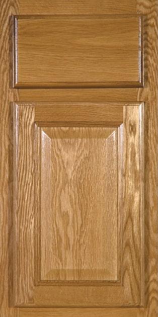 CNC Country Oak Kitchen Cabinets