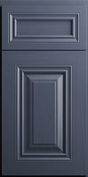 CNC Concord Park Ave Ocean Blue Kitchen Cabinets
