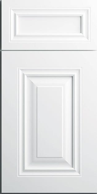 CNC Concord Park Ave White Kitchen Cabinets