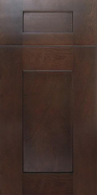 Concord Elegant Espresso Cabinet Door Style