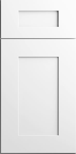 CNC Concord Elegant White Kitchen Cabinets