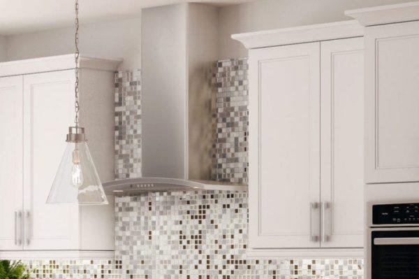 CNC Concord Fashion White Kitchen Cabinets