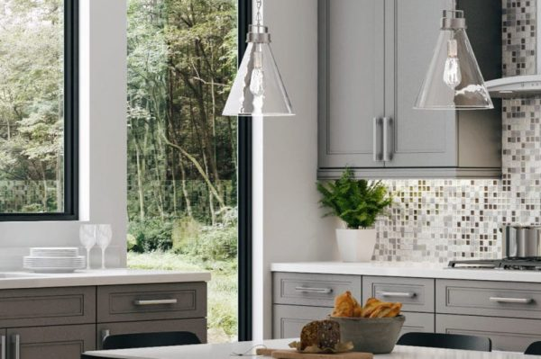 CNC Concord Fashion Dove Kitchen Cabinets