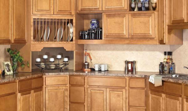 CNC Country Sierra Toffee Kitchen Cabinets