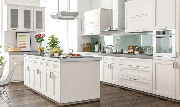 CNC Concord Fashion Pearl Kitchen Cabinets