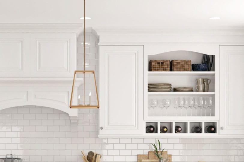 Cnc Concord Park Ave White Kitchen Cabinets Premium Value