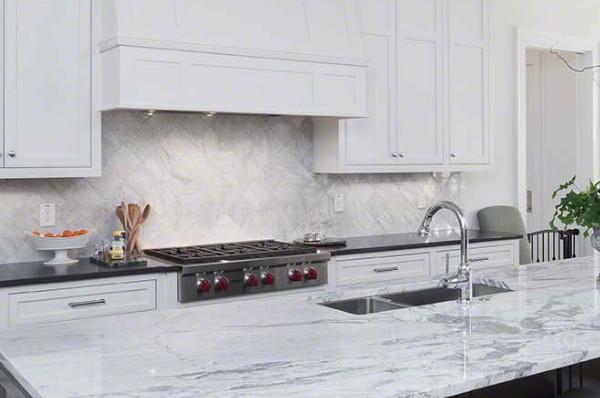 Arabescato Carrara Marble MSI Countertops