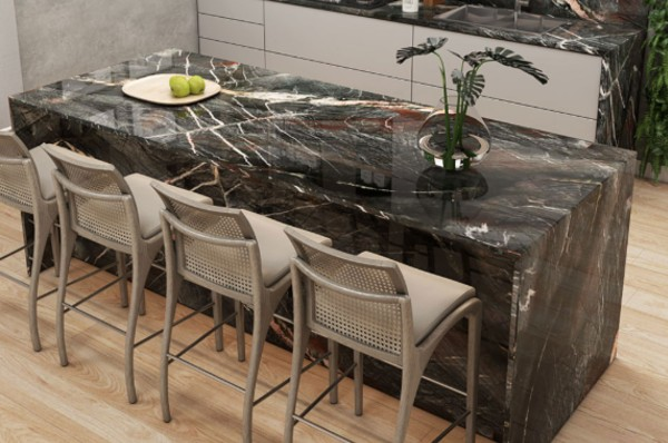 Crytos Quartzite MSI Kitchen