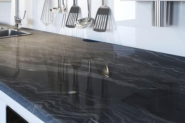 Fantasy Black Marble Countertop