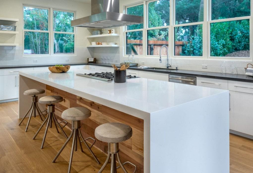 Thassos Inspire Quartz Kitchen Decor