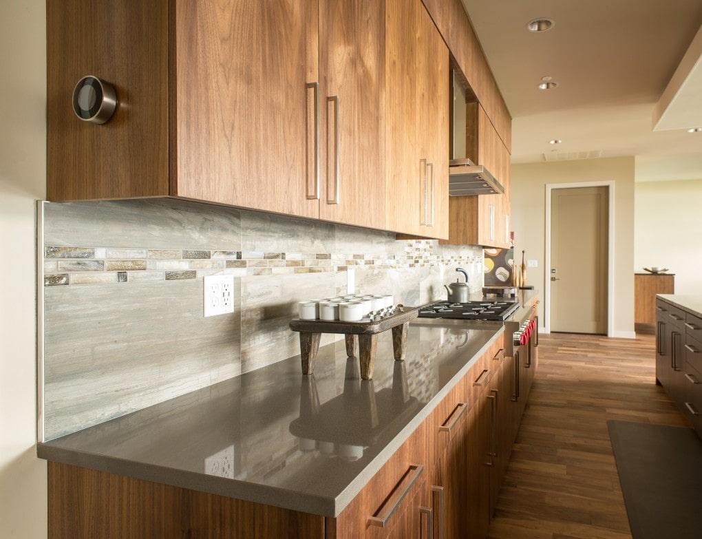 Stormy Sky Pental Quartz Kitchen Design