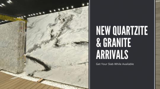 Just Arrived in Wayne, NJ New Beautiful Quartzite & Granite Slabs