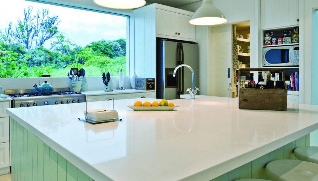 Pure White Caesarstone Quartz