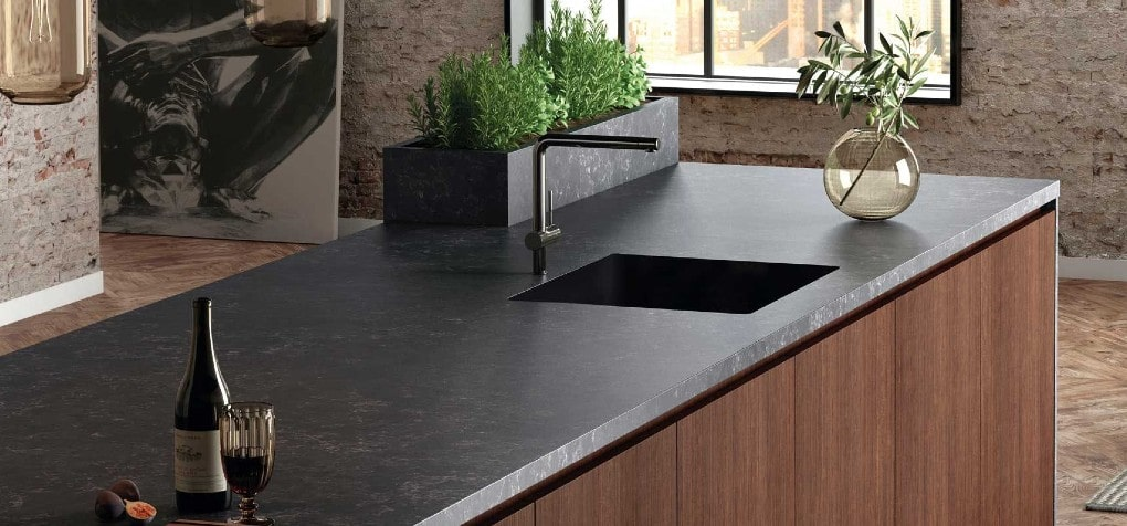 Silestone Corktown Quartz Kitchen Design