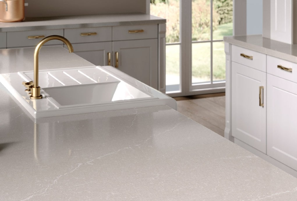 Silestone Desert Silver Quartz Design