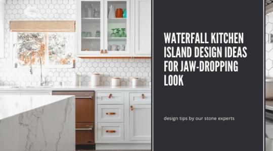 Waterfall Kitchen Island Design