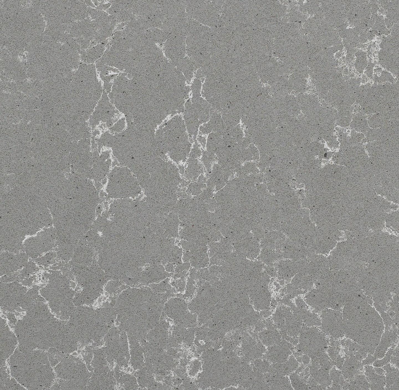 Concrete Carrara Quartz Slab Detail