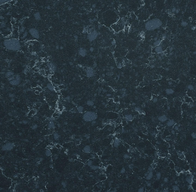 Indigo Swirl Quartz Slab Detail