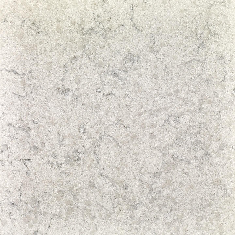 Stratus White Corian Slab Detail