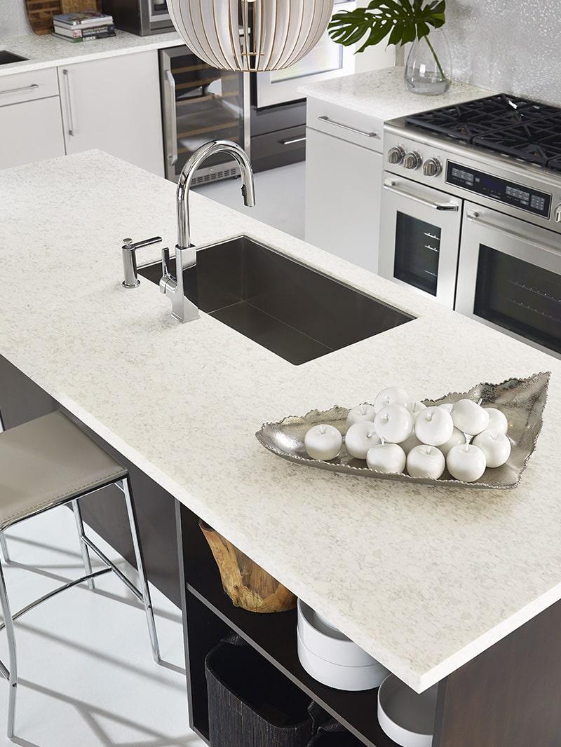 Stratus White Quartz Design Application