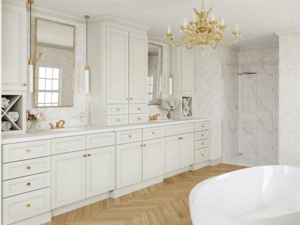 Allure Imperio Dove Fabuwood Bathroom