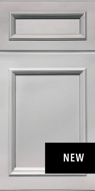 Allure Imperio Nickel Fabuwood Kitchen Cabinets