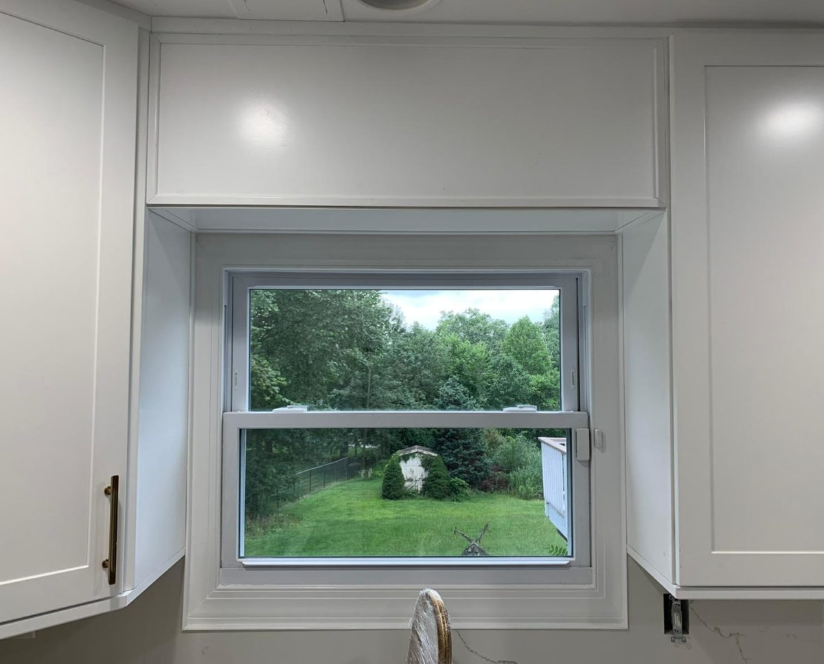 Kitchen Remodel in Wayne, NJ with a view